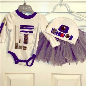 R2D2 Halloween Costume with Tutu for Infant